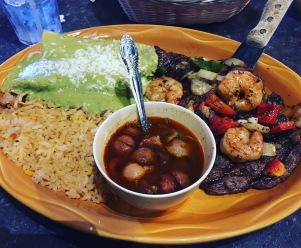 Lunch at the Mexican Restaurant in Rockford, IL