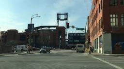 St. Louis baseball stadium