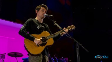 John Mayer live at the AT&T Center - September 7, 2019 (photos Johnnie Walker)