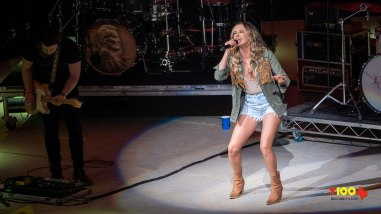 Carly Pearce & Michael Ray live at the San Antonio Rodeo - February 8, 2020 (photos Johnnie Walker)